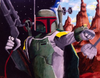 Asni's Art Blog: Star Wars Popularity Contest: Boba Fett
