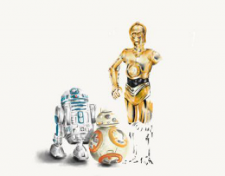 Asni's Art Blog: Star Wars Popularity Contest: Old Friends
