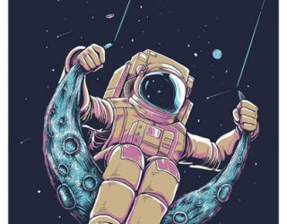 Asni's Art  Blog: Ground Control to Major Tom