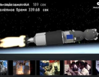 Space Crew Make Emergency Landing