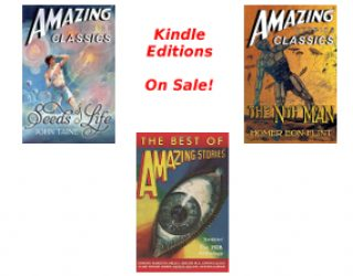 AMAZING STORIES ANTHOLOGIES & CLASSICS ON SALE
