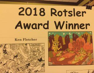 2018 ROTSLER AWARD PRESENTED TO KEN FLETCHER