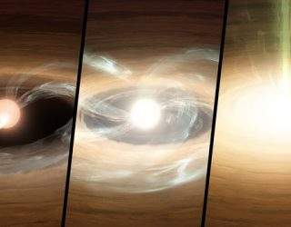 NASA Satellites Spot Young Star in Growth Spurt