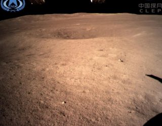 First images from China's probe that just landed on the dark side of the moon