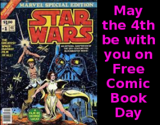 Get Free Comics On May the Fourth Holiday