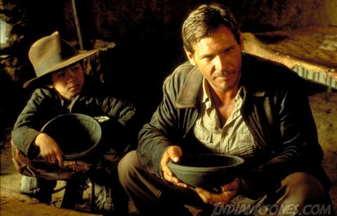 Image of Indiana Jones and Short Round