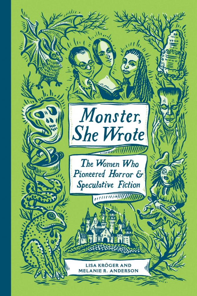 The Cover for Monster, She Wrote