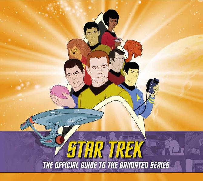 The Cover of Star Trek: The Official Guide to the Animated Series book