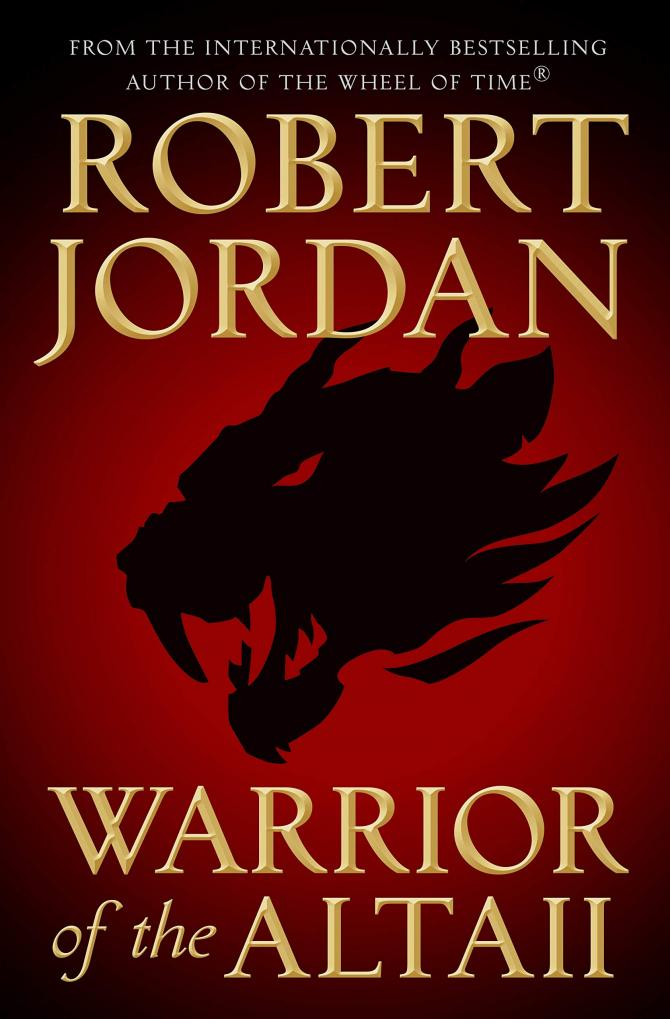 Cover for Warrior of the Altaii, a Fantasy Novel by Robert Jordan