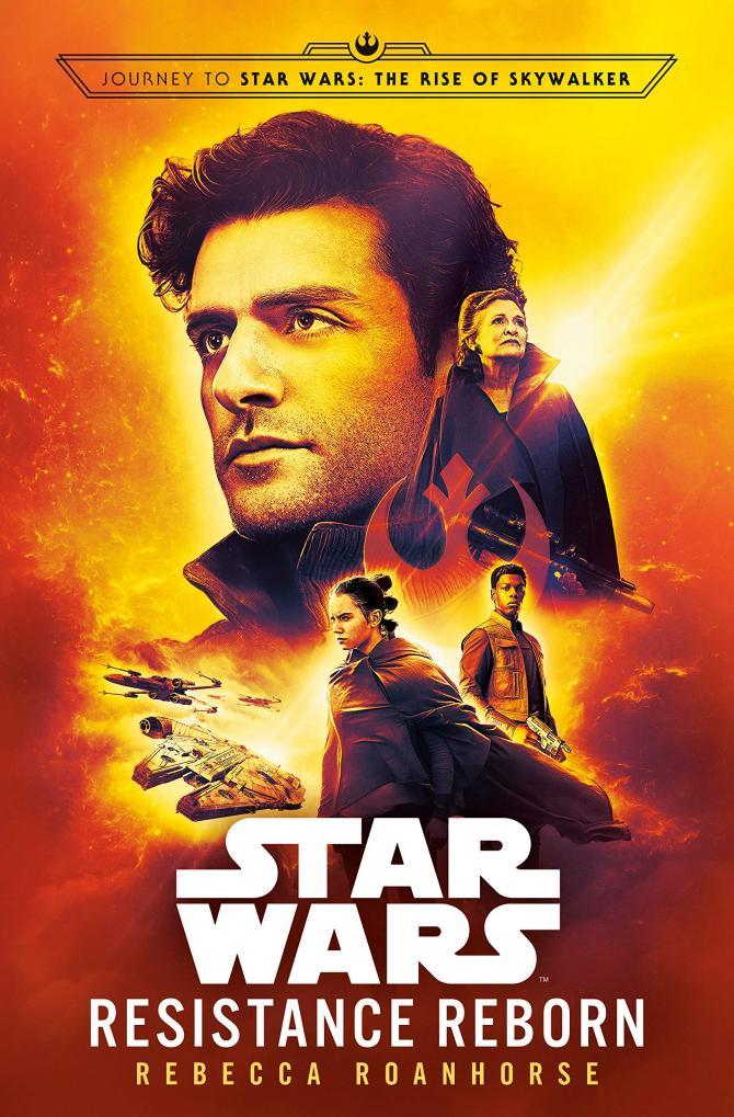 The Cover of Rebecca Roanhorse's Book Star Wars: Resistance Reborn