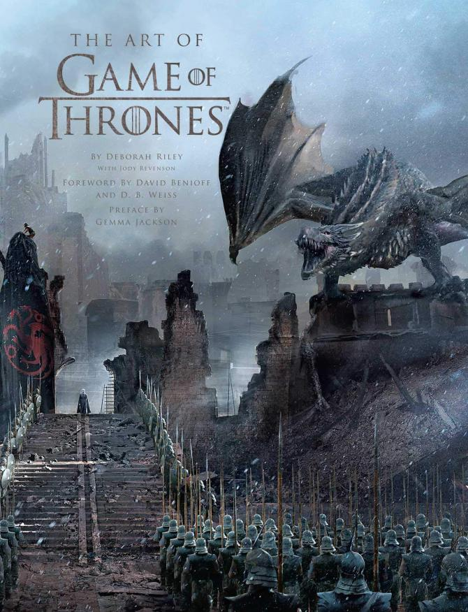 The Cover of The Art of Game of Thrones, The Official Book of Design Seasons 1 to 8