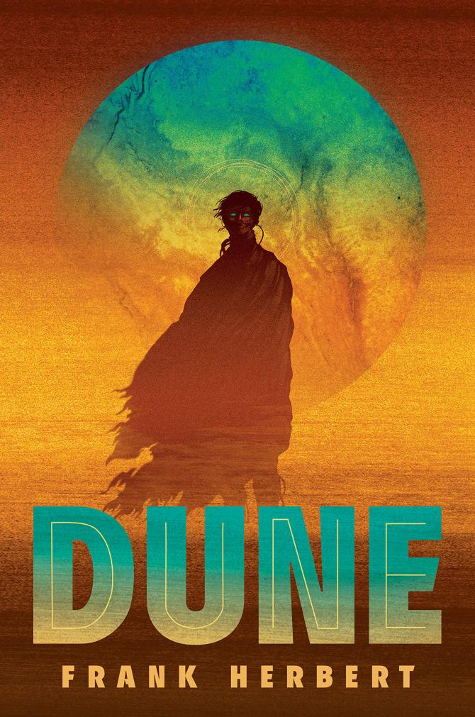 The Cover of Dune: The Deluxe Edition by Frank Herbert
