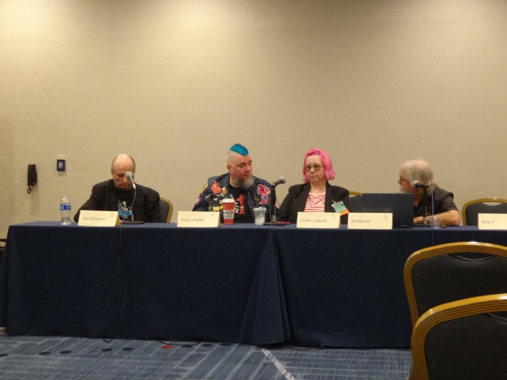 Panel from Loscon 46, photo courtesy of Recursor.TV